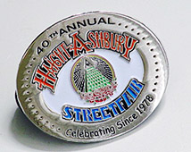 HASF 40th Anniversary Pin