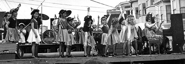 Snappy Tappers, Stanyan Stage 1979